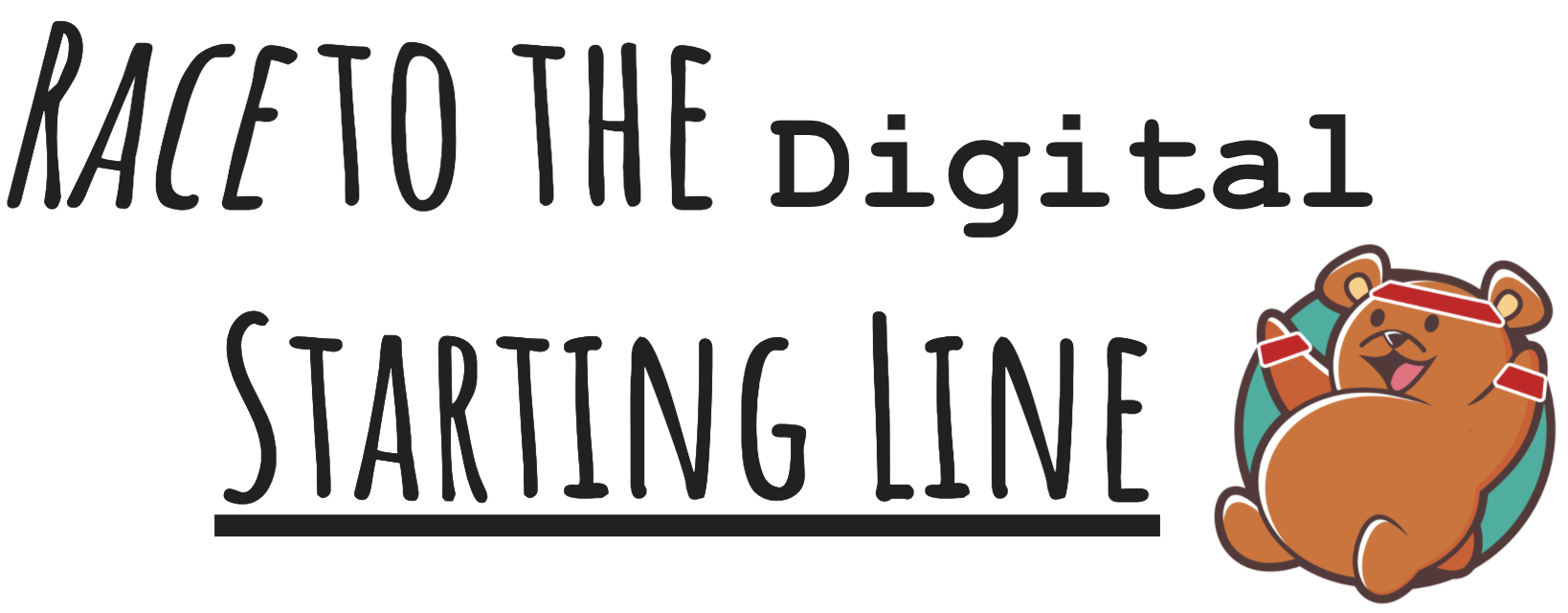 Race to the digital starting line